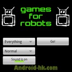 《Games For Robots》大量考反應的小遊戲