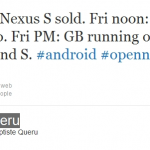 Nexus One 將於聖誕前夕升級到 Android 2.3 Gingerbread?