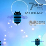 Honeycomb 小蜜蜂 Live Wallpaper 《Honeycomb Wall》