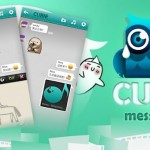 《Cubie Messenger》WhatsApp + Draw Something 混合體
