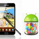 Galaxy Note 即日起可升級至 Android 4.1.2 Jelly Bean 系統