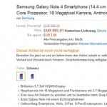 Samsung Galaxy Note 4 及 Galaxy Note Edge 於歐洲以天價接受預訂