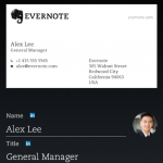 Evernote for Android更新:新增名片掃描功能