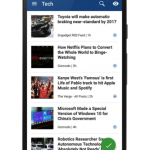 Inoreader for Android 4.0正式發佈:全新UI介面