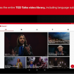 TED for Android 更新:換上Material Design 風格