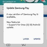 Samsung Pay 更新,支援 Android 8.0 Oreo 系統